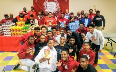 LasVegas Nupes and the Kappa Leadership League 24th Annual Thanksgiving Basket Community Service Event.